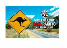 World Series of Poker - Asia Pacific - Melbourne, Australia - Event Promotion Poster