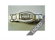 Ebay Auction Ended - WSOP 2008 Bracelet