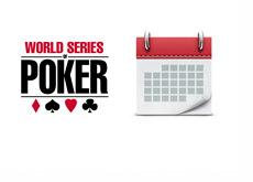 World Series of Poker (WSOP) - Calendar