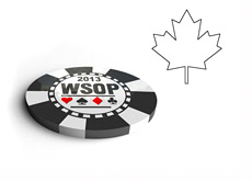 The World Series of Poker 2013 - Chip - Canada Maple Leaf