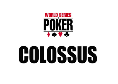 World Series of Poker - WSOP - Colossus - Event Logo