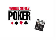 WSOP Logo and Calculator - Illustration