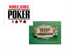 The World Series of Poker Logo and 2013 Bracelet