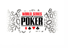 WSOP (World Series of Poker) 2014 in Numbers - Illustration - Concept - Logo