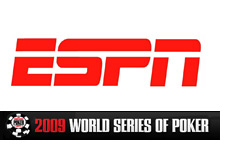 -- wsop - world series of poker on espn tv network - company logos --
