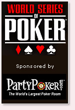 party poker is the official sponsor of wsop 2007
