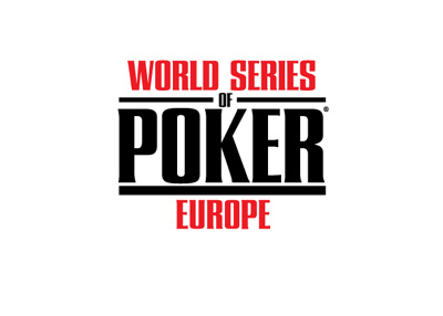 The World Series of Poker Europe logo - WSOPE.