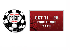World Series of Poker Europe - Paris France - 2013
