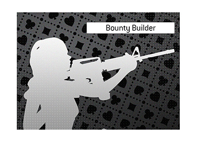 Illustrated is the bounty hunter of the online poker world.  Definition.
