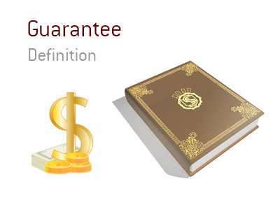 The definition and meaning of the term Guarantee in tournament poker.