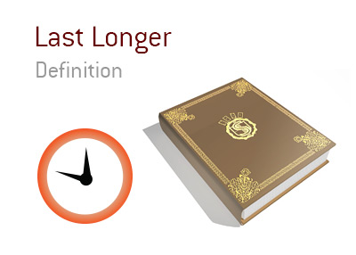 Meaning of the term Last Longer when it comes to tournament poker.