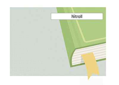 The Poker King explains the meaning of the term Nitroll.  Dictionary entry.