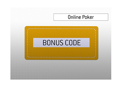 The meaning of the term Poker Bonus Code when it pertains to online play is explained by the King.