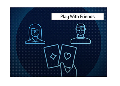888 Poker Play With Friends - What is it?  The King explains.