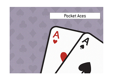 What are pocket aces in the game of poker?  The King explains.  Term definition and meaning.