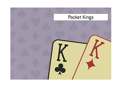 What are Pocket Kings in the game of poker?  The King explains.