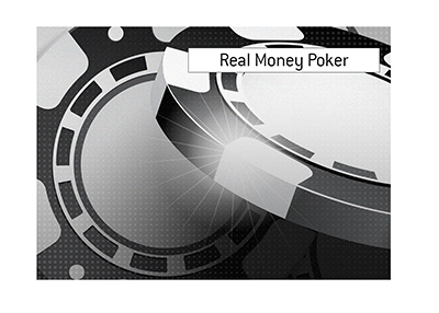The King explains the meaning of the term Real Money Poker.  What is the difference compared to the play money game.