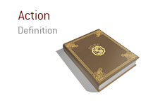 Definition of the term Action - Poker Dictionary