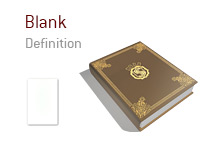 Definition and meaning of the term Blank - Poker Dictionary