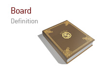 Definition and meaning of the term Board