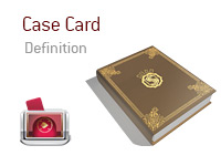 Definition of Case Card - Poker Dictionary - Illustration