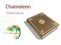 Definition of the term Chameleon in the game of poker - What is it and what does it mean? - Illustration