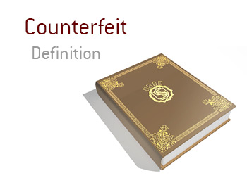 Kings Poker Dictionary - Definition and meaning of the term Counterfeit - What is it?