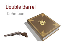 Definition of Double Barrel term in the game of poker - Poker-King.com Dictionary