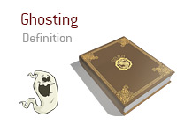 Definition of Ghosting - Poker Dictionary - Ghost Illustration