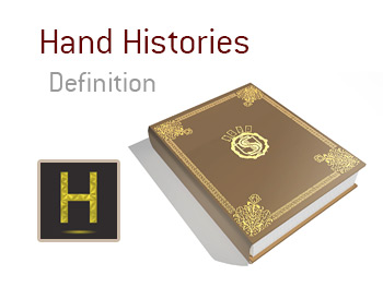 Definition and meaning of Hand History - King Poker Dictionary - Illustration