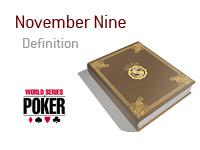 Definition of November Nine