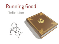 Definition of term Running Good - Poker Dictionary - Illustration