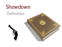 Showdown - Poker Dictionary