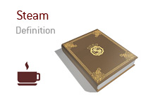 Definition and meaning of the term Steam in poker