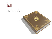 Definition of Tell - Poker Dictionary