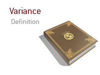 Definition of the term Variance in the game of poker