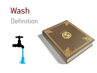 Definition of Wash in poker