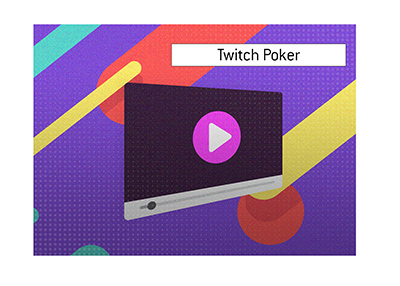 The King explains the meaning of the popular term Twitch Poker.  What is the origination of the term and when and by who is it used?