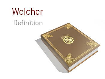 Definition of the term Welcher in the game of poker.  Who is it?  Example of one.