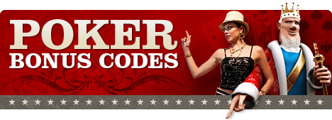 The King and his assistant Ivana present to you the latest poker room bonus codes