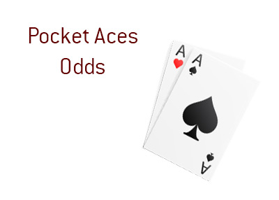 What are the odds of getting pocket aces in the game of holdem poker?  The King answers the mathematical question.