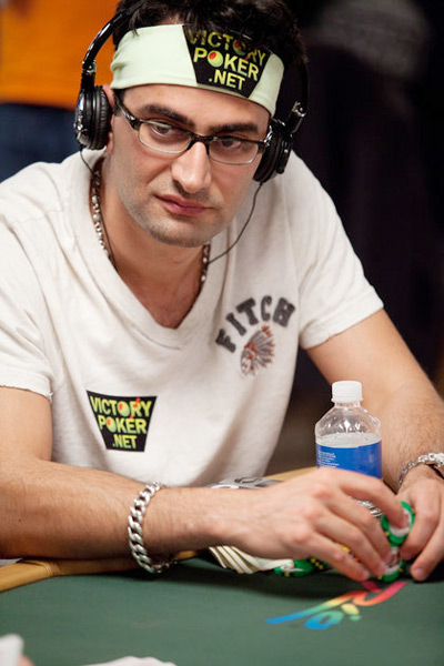 Antonio Esfandiari at the World Series of Poker 2010 - Rio, Las Vegas