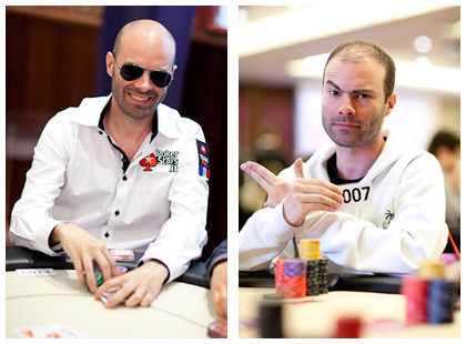 Arnaud Mattern in action - Photo by Pokerstarsblog.com