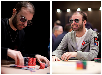 Arnaud Mattern in black - Photo by Pokerstarsblog.com