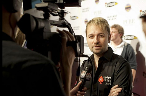 Daniel Negreanu at the 2011 National Heads-Up Poker Championship - In front of the Cameras