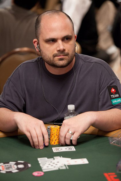 George Lind at the World Series of Poker 2010