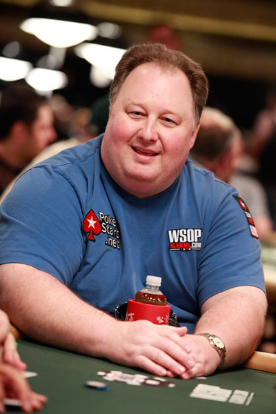 Greg Raymer at the WSOP 2010