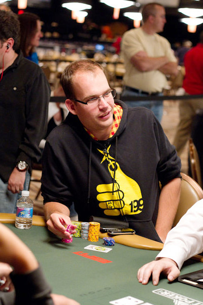 James Dempsey at the World Series of Poker 2010