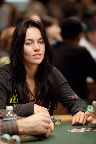 Liv Boeree at the World Series of Poker 2010 - Las Vegas