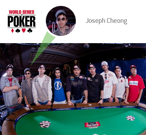 Joseph Cheong - WSOP 2010 - November 9